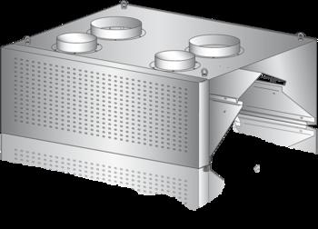 Okap kondensacyjny przyścienny z nawiewem DM-S-3633