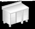 Stół z dwiema szafkami DM-3125, DM-S-3125
