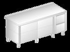Stół z szafką i szufladami DM-3126, DM-S-3126