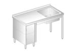 TABLE WITH SINK AND CUPBOARD DM-3011, DM-S-3011