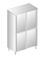 UPRIGHT CUPBOARD WITH SLIDING DOORS DM-3308