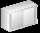 Szafka wisząca z drzwiami suwanymi DM-3316