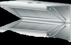 Okap wyciągowy przyścienny DM-S-3602