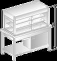 Witryna chłodnicza na podstawie szkieletowej DM-94940-O