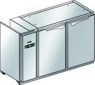 Podstawy chłodnicze z maszynownią z boku - bez agregatu BLC-C.0L.0P