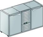 Podstawa chłodnicza z agregatem centralnym BLC-0L.M.0P