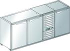 Podstawa chłodnicza z agregatem centralnym BLC-0L.0P.M.0P