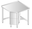 CORNER TABLE WITH CUPBOARD DM-3110, DM-S-3110
