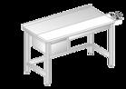 Stół z płytą do krojenia i szufladą DM-3106, DM-S-3106