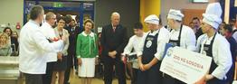 Norweska para królewska w Centrum Techniki Kulinarnej